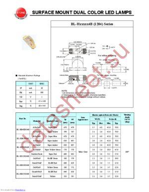 BL-HD1X134B datasheet скачать даташит