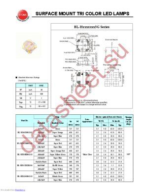 BL-HG6UBB433G datasheet скачать даташит