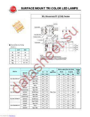 BL-HD1G6B433T datasheet скачать даташит