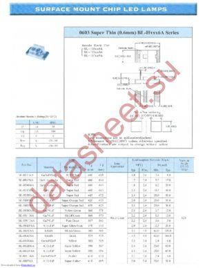 BL-HG036A datasheet скачать даташит